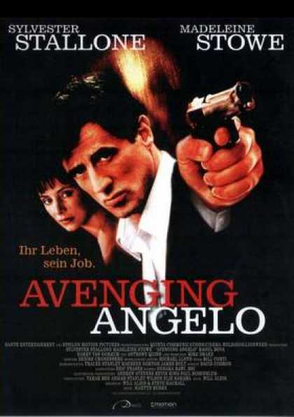 German DVDs - Avenging Angelo