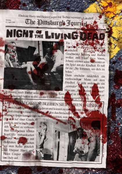 German DVDs - Night Of The Living Dead