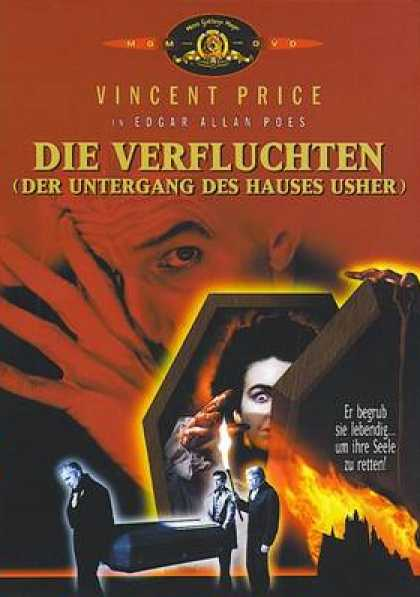 German DVDs - The Fall Of The House Of Usher
