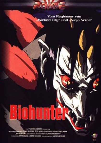 German DVDs - Biohunter