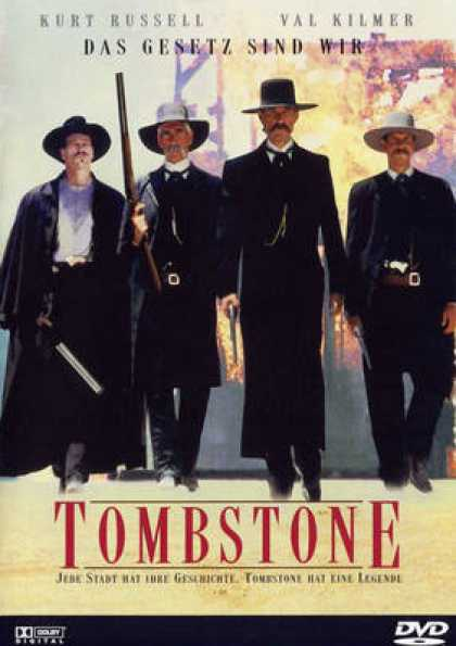 German DVDs - Tombstone
