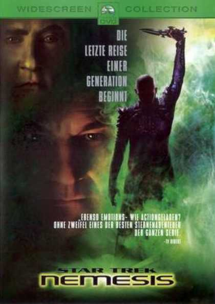 German DVDs - Star Trek: Nemesis