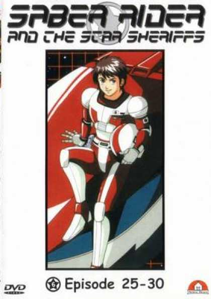 German DVDs - Saber Rider And The Star Sheriffs Vol. 06
