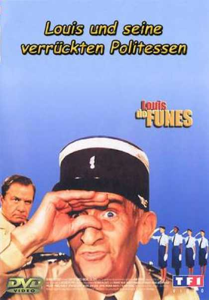 German DVDs - The Gendarme And The Crazy Traffic Wardens
