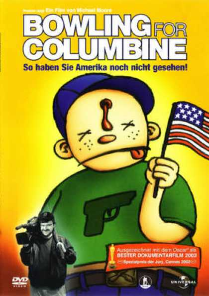 bowling for columbine report In the film , bowling for columbine, michael moore discusses america's gun laws and talks about tragedies such as the columbine high school shooting.