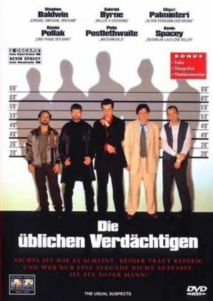 German DVDs - The Usual Suspects