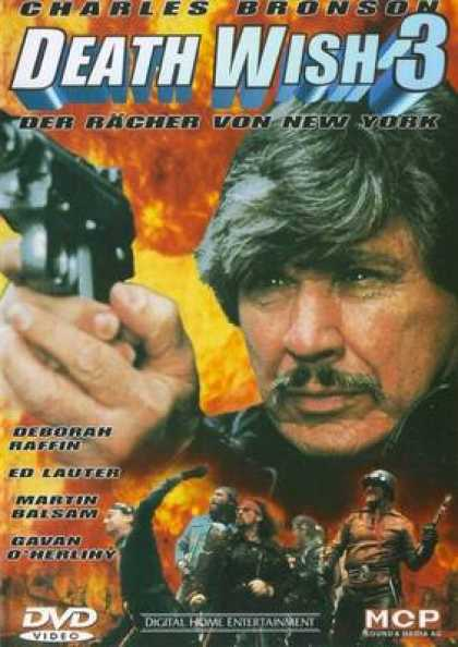 German DVDs - Death Wish 3