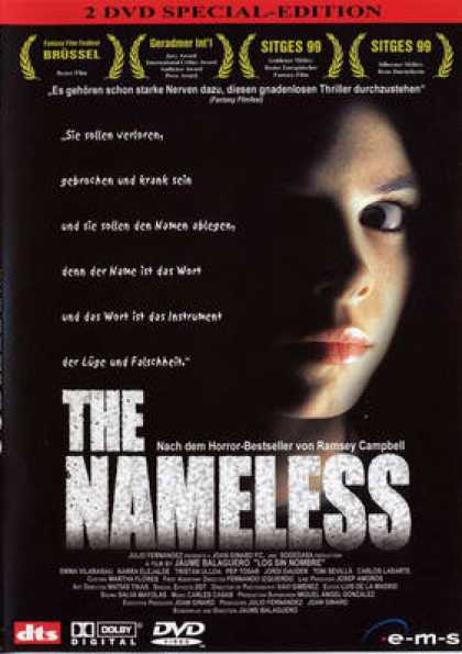 German DVDs - The Nameless Special