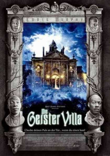 German DVDs - The Haunted Mansion