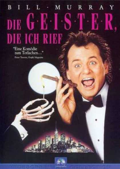 German DVDs - Scrooged