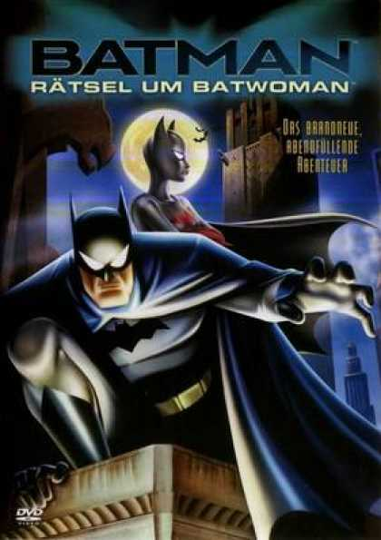 German DVDs - Batman The Mystery Of The Batwoman