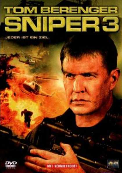 German DVDs - Sniper 3