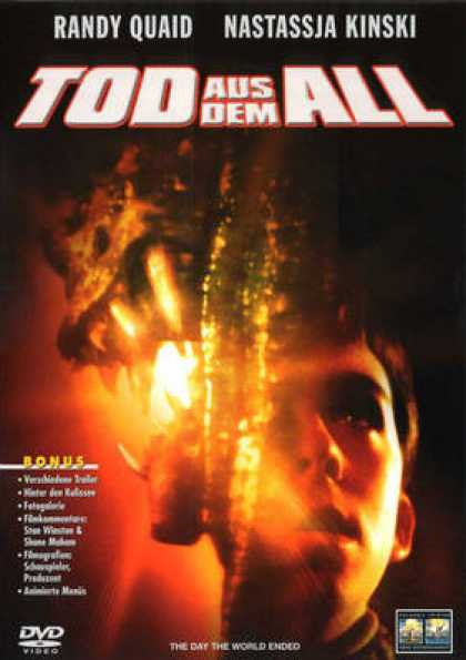 German DVDs - The Day The World Ended
