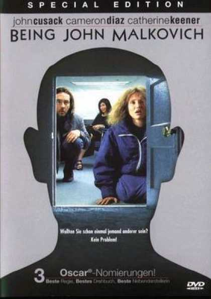 German DVDs - Being John Malkovich Special