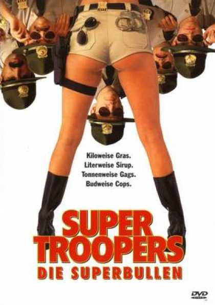 German DVDs - Super Troopers - Die Superbullen
