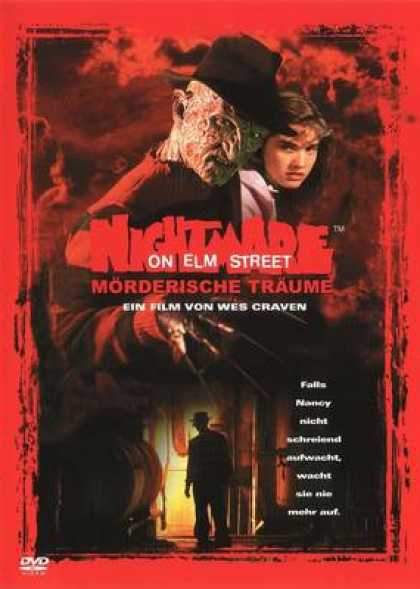 German DVDs - A Nightmare On Elm Street