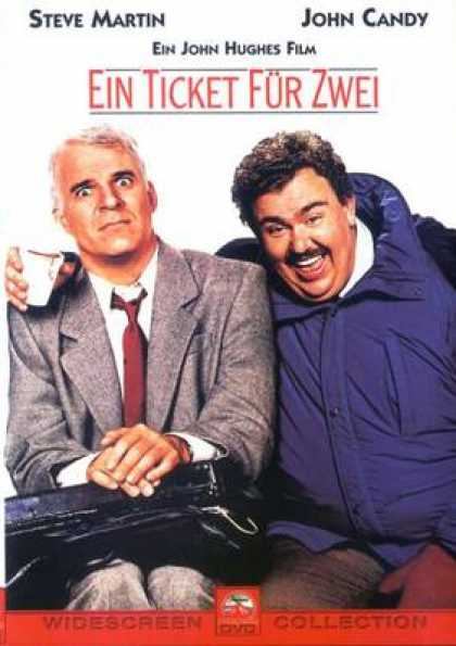 German DVDs - Trains Planes And Automobiles