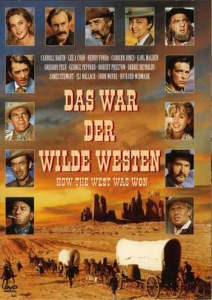 German DVDs - How The West Was Won