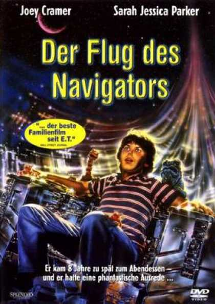 German DVDs - The Flight Of The Navigator
