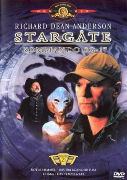 German DVDs - Stargate Commando Sg 1 Vol.21
