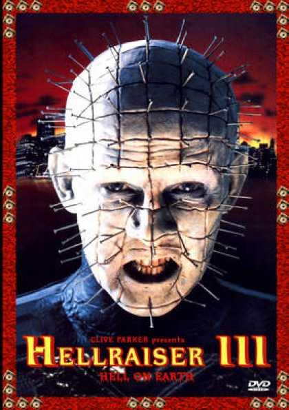 German DVDs - Hellraiser 3 Hell On Earth
