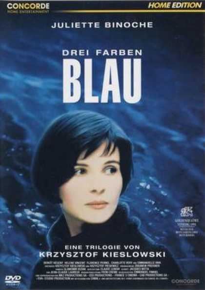 German DVDs - Three Colors Blue