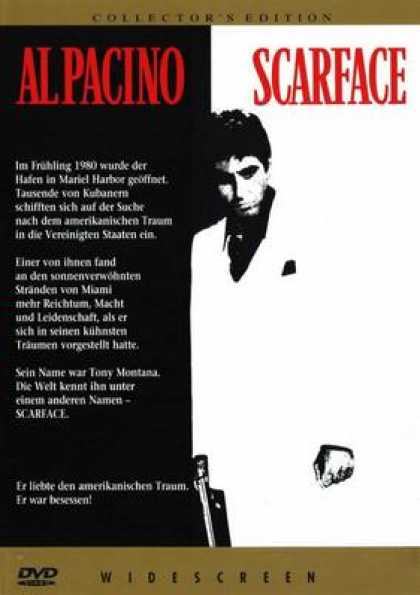 German DVDs - Scarface (1983) GERMAN R1 WS CE