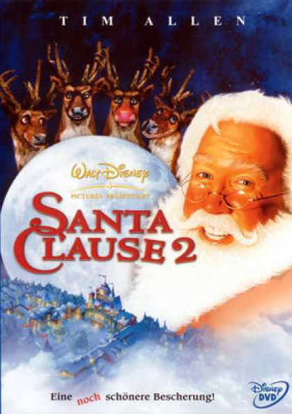 German DVDs - The Santa Clause 2 - 2002