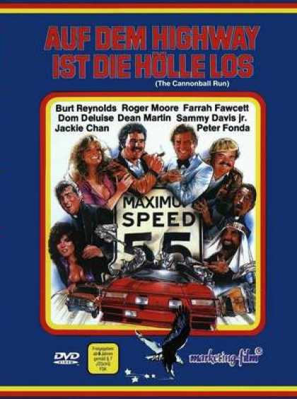 German DVDs - The Cannonball Run