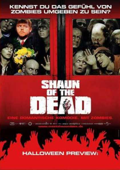 German DVDs - Shaun Of The Dead