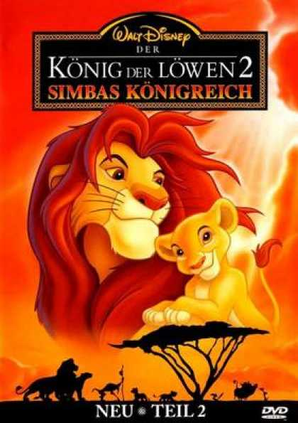 German DVDs - The Lion King 2 Simbas Pride