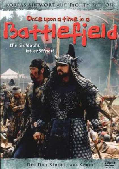 German DVDs - Once Upon A Time In A Battlefield