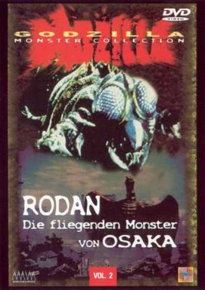 German DVDs - Godzilla Monster Collection Vol 02