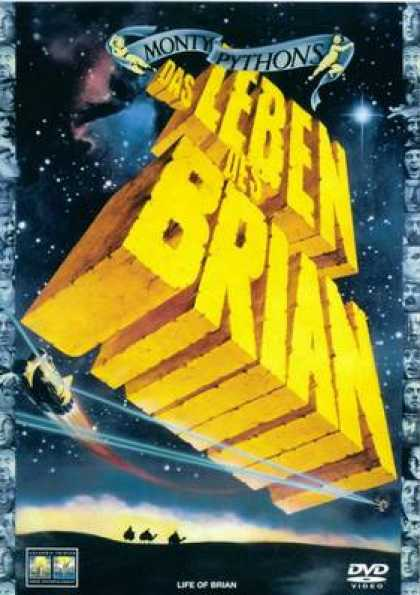 German DVDs - The Life Of Brian