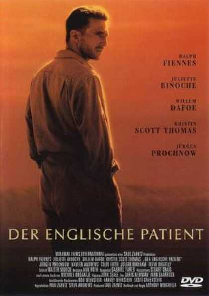 German DVDs - The English Patient