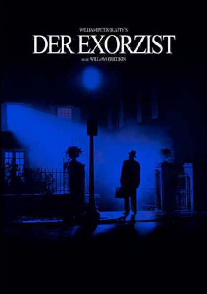 German DVDs - The Exorcist