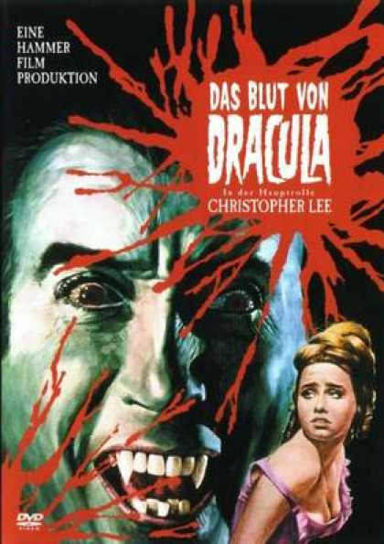 German DVDs - Taste The Blood Of Dracula