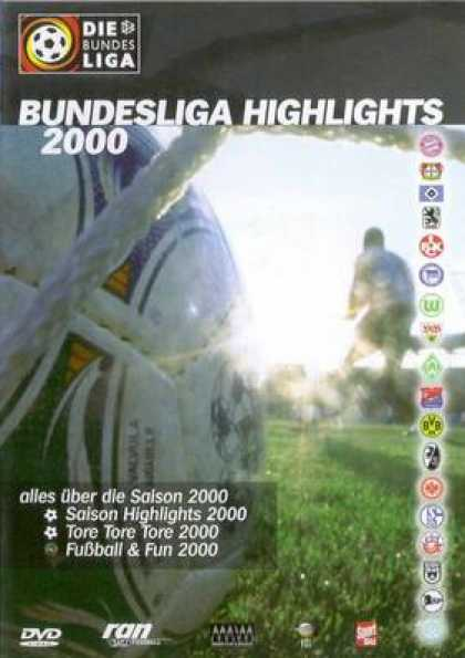 German DVDs - Bundesliga Highlights 2000