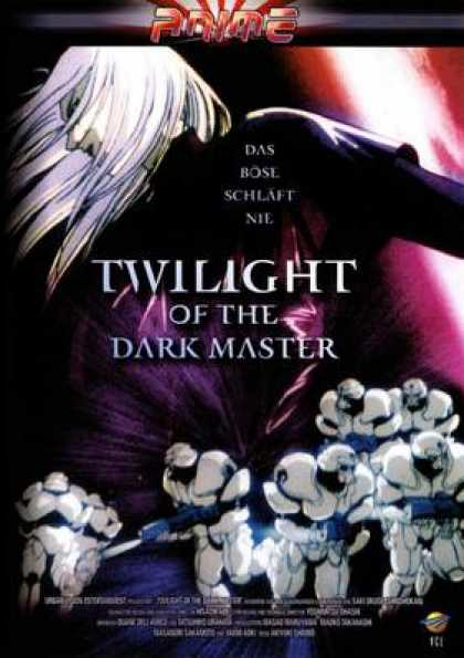 German DVDs - Twlight Of The Dark Master