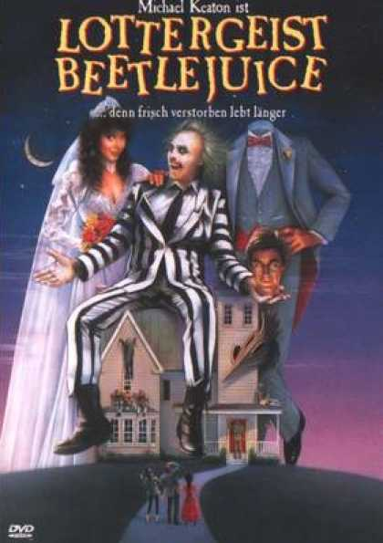 German DVDs - Lottergeist Beetlejuice