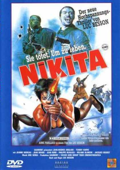 German DVDs - Nikita
