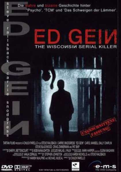 German DVDs - Ed Gein