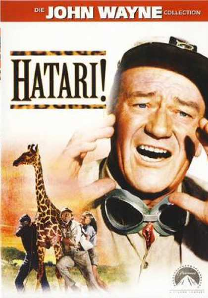 German DVDs - Hatari! 1961 Die John Wayne Collection