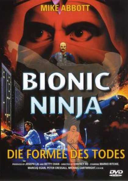 German DVDs - Bionic Ninja