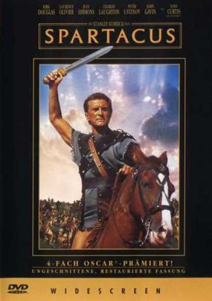 German DVDs - Spartacus