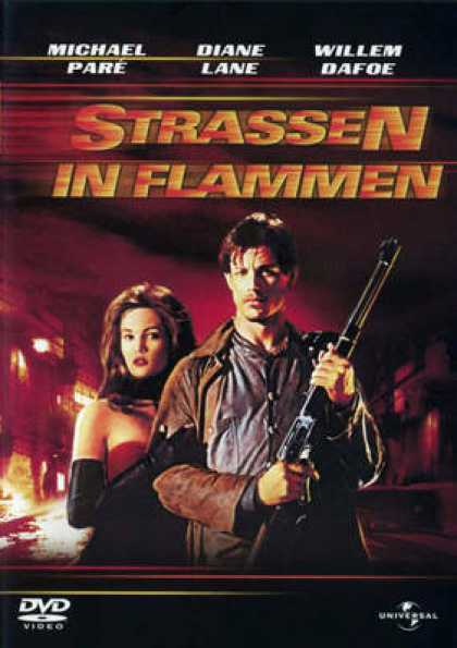 German DVDs - Streets Of Fire