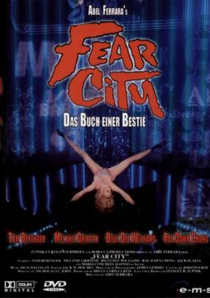 German DVDs - Fear City