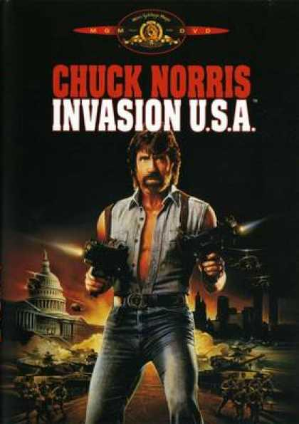 German DVDs - Invasion U.S.A.