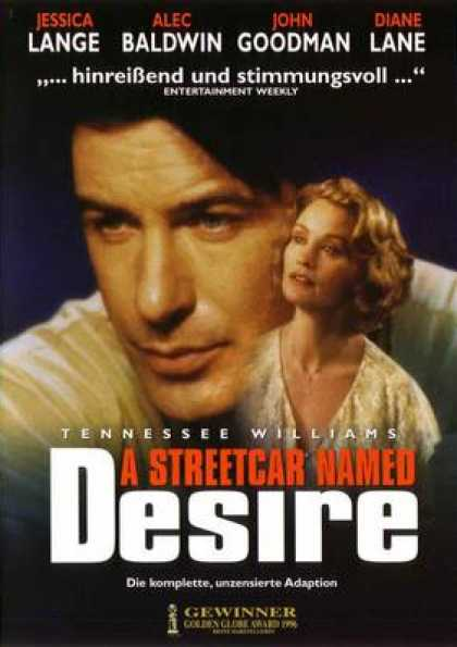 German DVDs - A Streetcar Named Desire