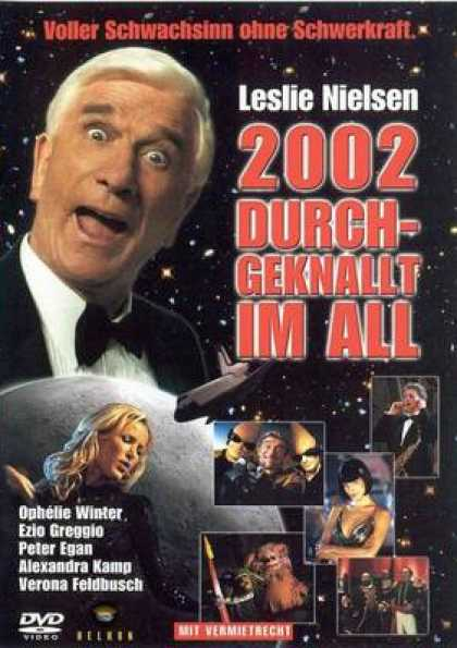 German DVDs - 2002: A Space Travesty